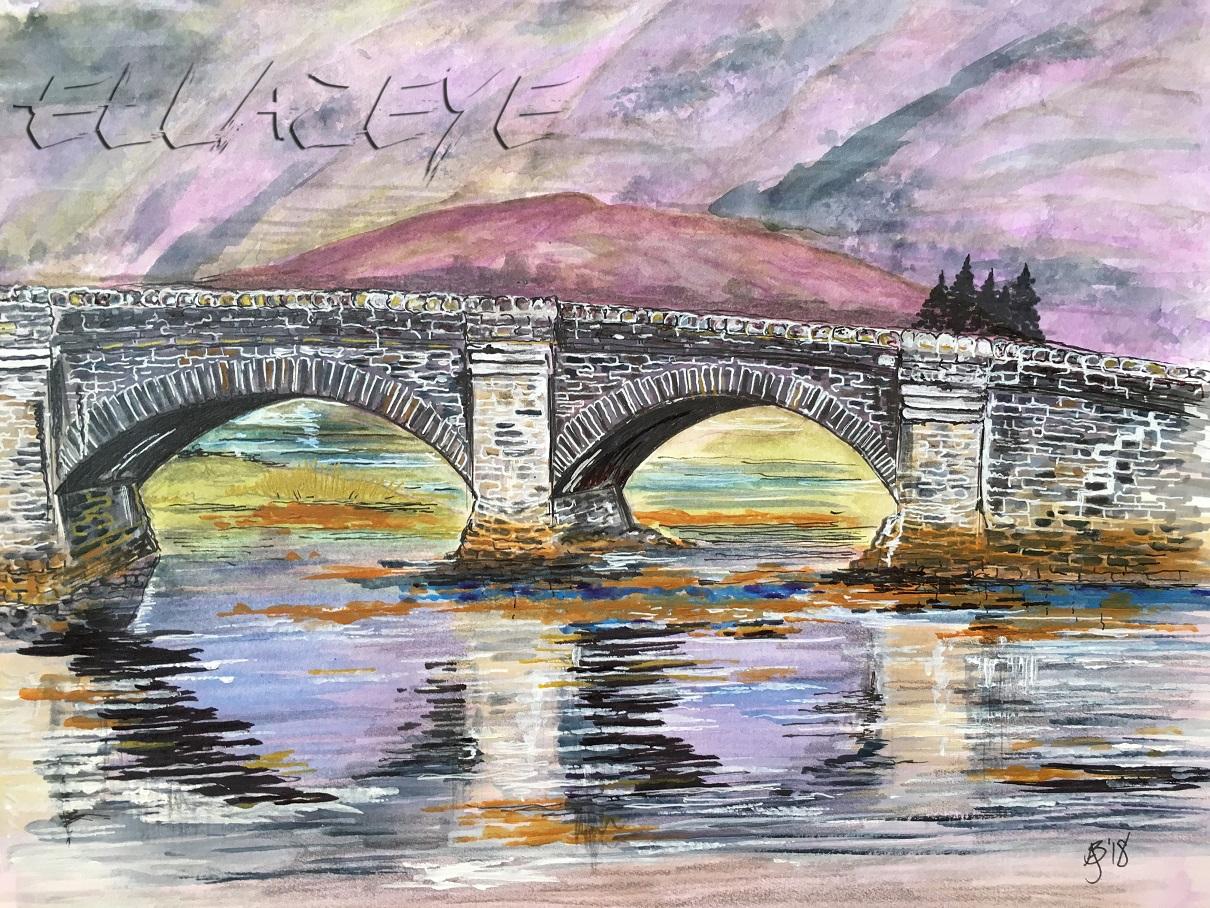 Eilean Donan Bridge