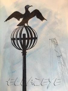 Cormorant and Crane